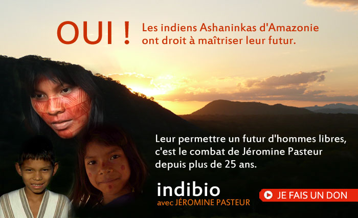Soutenez les indiens d'Amazonie