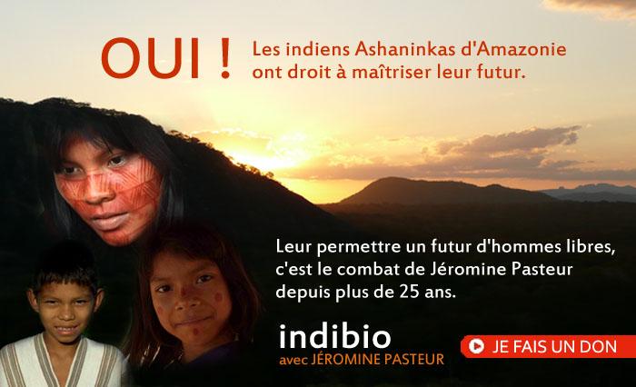 Soutenez les indiens d'Amazonie